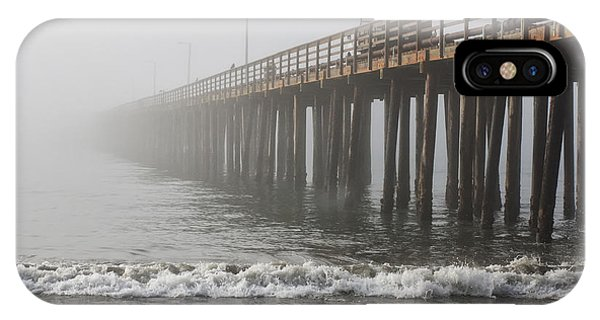 Foggy Dock Phone Case by Jim Young