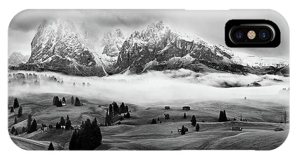 Foggy Dolomites Phone Case by Marian Kuric