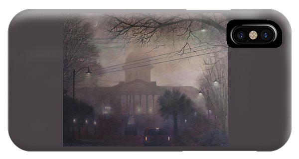 Foggy Dome IPhone Case
