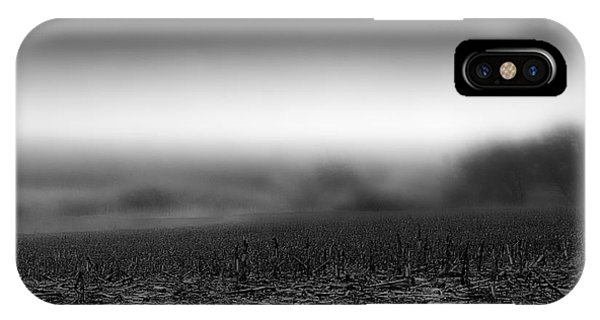 Foggy Field IPhone Case