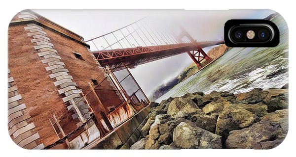 Foggy Gates IPhone Case