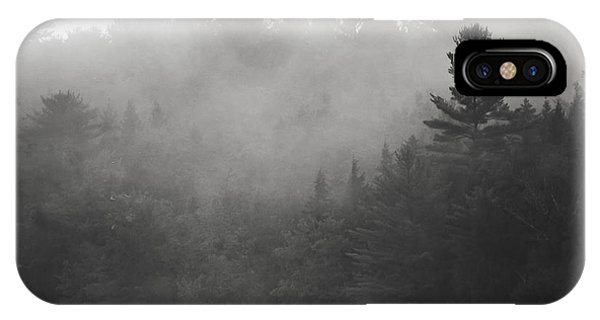 Foggy Hillside - Norway - Maine IPhone Case