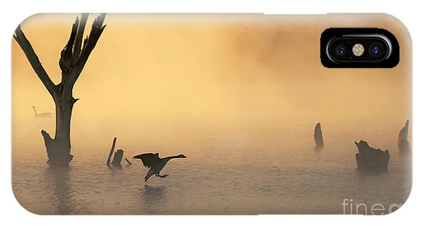 Foggy Landing IPhone Case