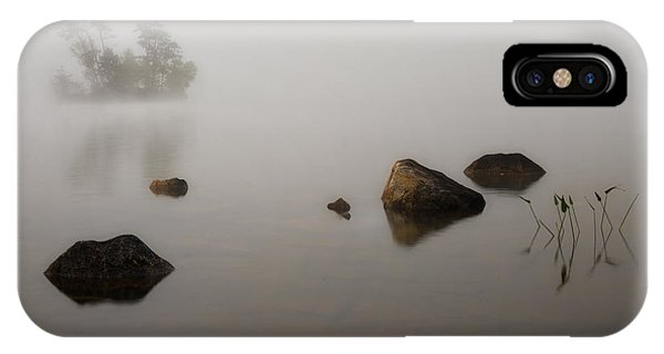 Foggy Morn IPhone Case