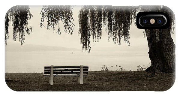 Foggy Morning At Stewart Park IPhone Case