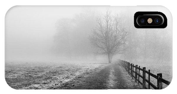 Foggy Morning. IPhone Case