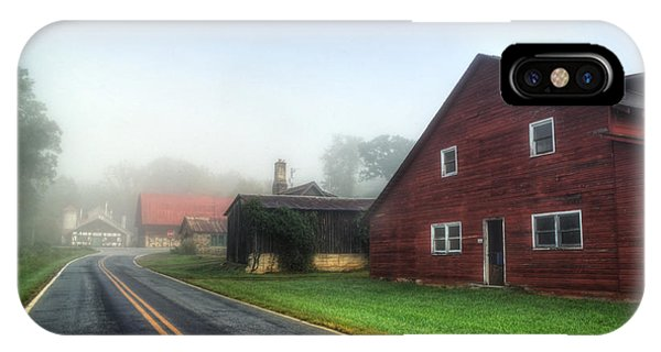 Foggy Morning In Brasstown Nc IPhone Case