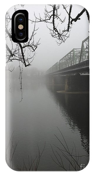 Foggy Morning In Paradise - The Bridge IPhone Case