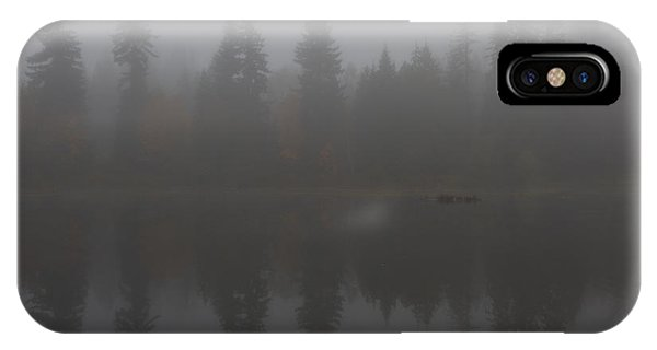 Foggy Morning On The Lake IPhone Case