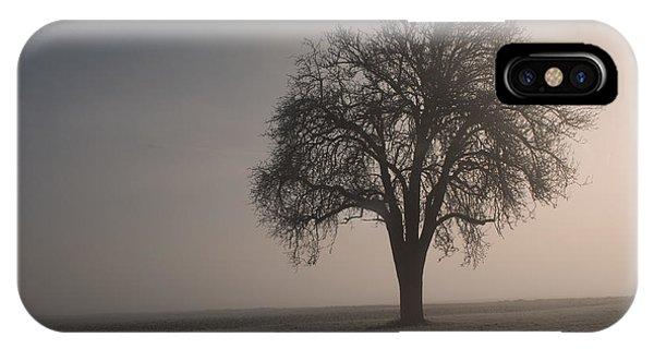Foggy Morning Sunshine IPhone Case