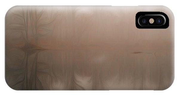Foggy Reflection IPhone Case