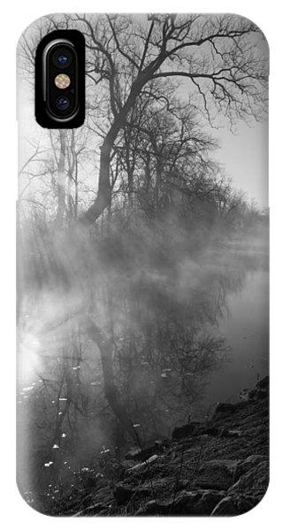 Foggy River Morning Sunrise IPhone Case