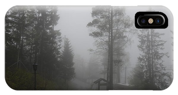 Foggy Romance 1 IPhone Case