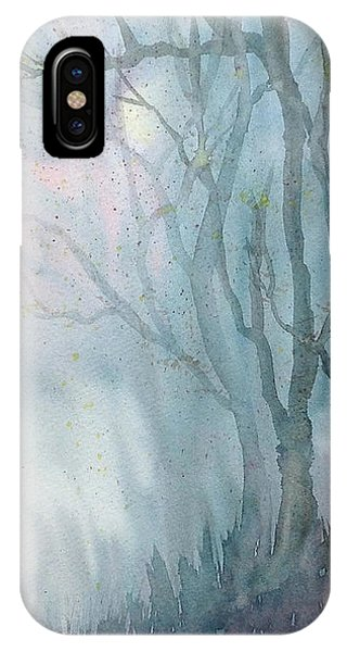 Foggy Trees IPhone Case