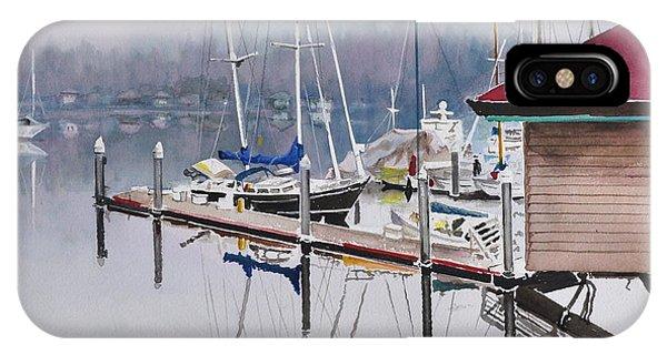 Foggy Dock IPhone Case