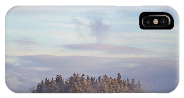 Morning Mist iPhone Case - Fogscape by Evelina Kremsdorf