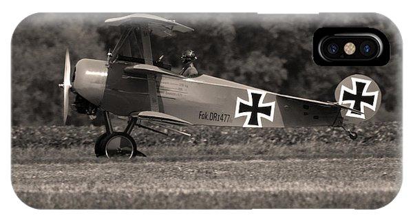 Fokker Dr1477 Triplane IPhone Case