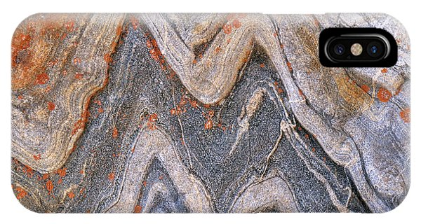 Layer iPhone Case - Folded Granite by Art Wolfe