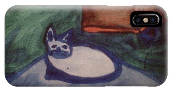 Folk Art Cat IPhone Case
