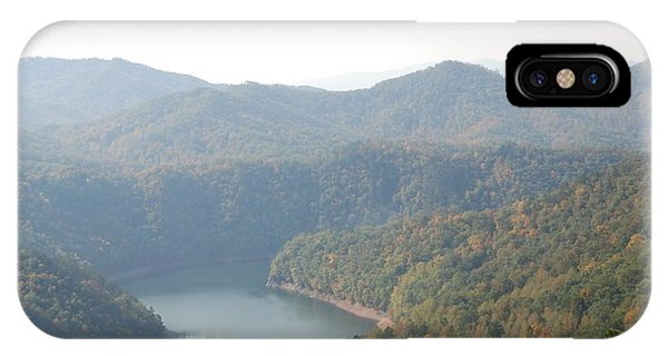 Fontana Lake Fall View IPhone Case