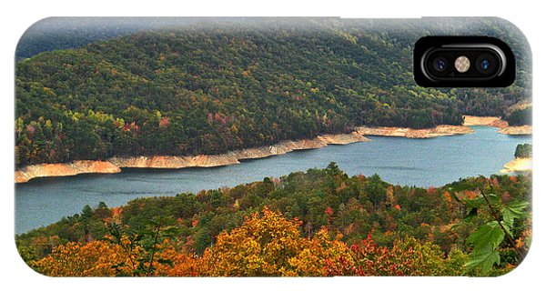 Fontana Lake In Fall IPhone Case