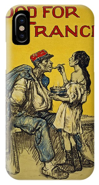 Food For France, 1918 IPhone Case