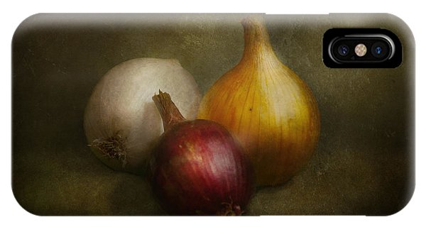 Food - Onions - Onions  IPhone Case