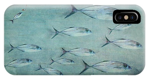 Fishing iPhone Case - Foolishness Of Youth by Harry Wentworth