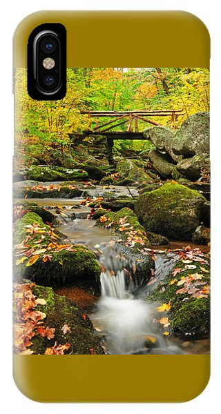Macedonia Brook Crossing  IPhone Case