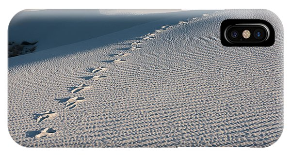 Foot Prints In The Sands IPhone Case
