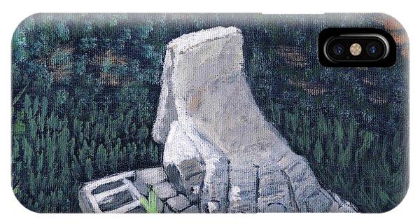 Foot Statue-caesaria IPhone Case