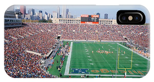 Football, Soldier Field, Chicago IPhone Case