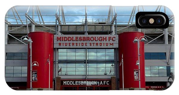 Football Stadium - Middlesbrough IPhone Case