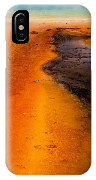Footprints And Reflections Phone Case by Shawn Brannon