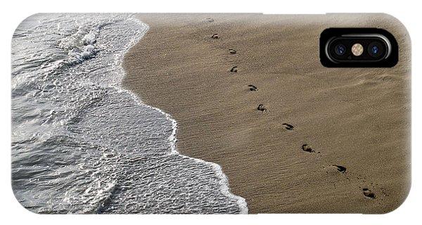 iPhone Case - Footprints by Kelly Holm