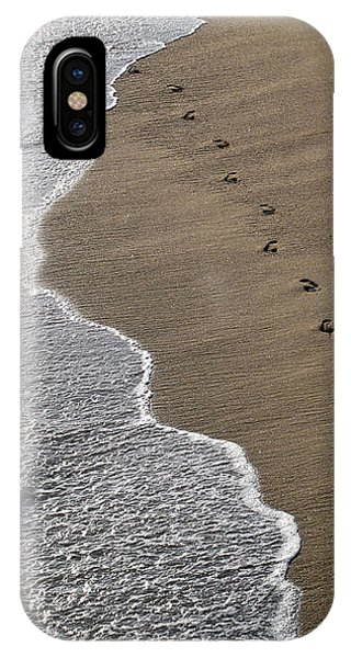 Footprints IPhone Case