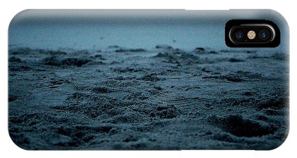Footprints Phone Case by Victoria Clark