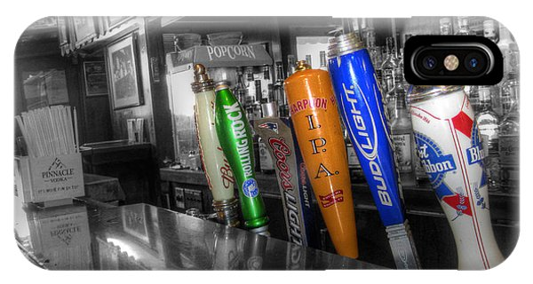 For All You Do - Beer Taps - Selective Color IPhone Case