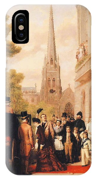 For Better Or For Worse iPhone Case - For Better For Worse by William Powell Frith