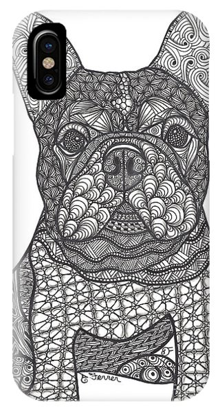 For The Love - French Bulldog IPhone Case