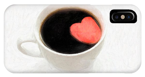 For The Love Of Coffee IPhone Case