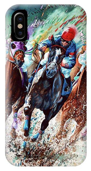 Horse iPhone Case - For The Roses by Hanne Lore Koehler