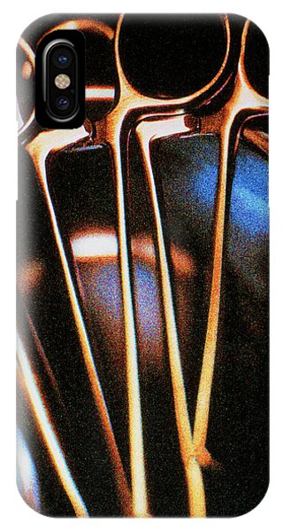 Stainless Steel iPhone Case - Forceps by Saturn Stills/science Photo Library