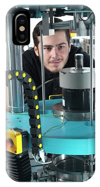 Npl iPhone Case - Forces Measurement Laboratory by Andrew Brookes, National Physical Laboratory
