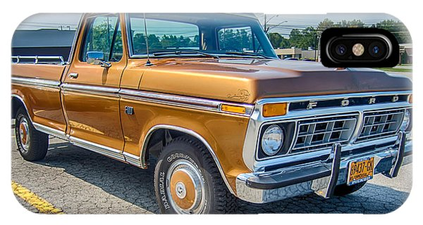 Ford F-100 7p00531h IPhone Case