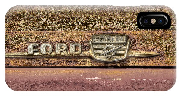 Ford F-100 IPhone Case