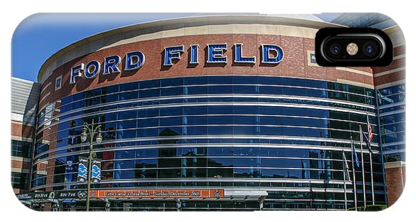 Ford Field  IPhone Case