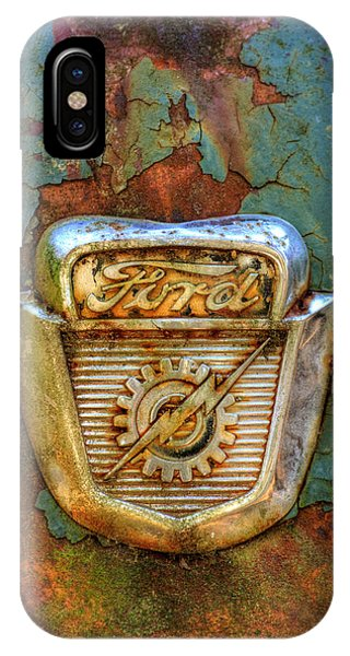 Ford Gear And Lightning IPhone Case