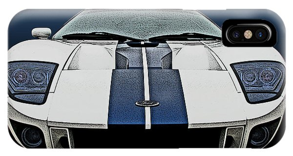 Ford Gt-40 Head On IPhone Case