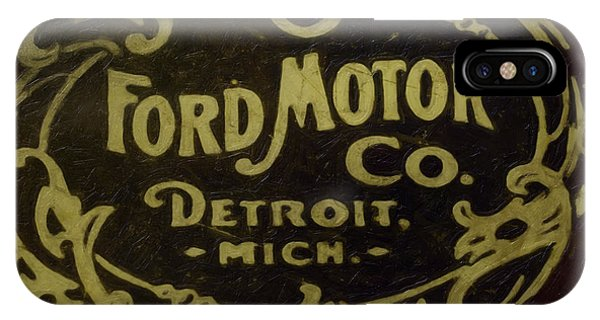 Ford Motor Company IPhone Case